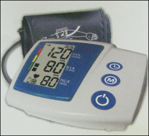 BP Monitor with AC Adapter
